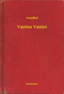 Stendhal - Vanina Vanini [eKönyv: epub, mobi]
