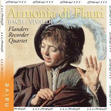 BACH - VIVALDI - ARMONIA DI FLAUTI CD FLANDERS RECORDER QUARTET