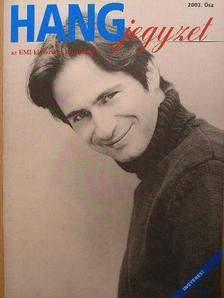 Márton Attila - HANGjegyzet 2003. Ősz [antikvár]