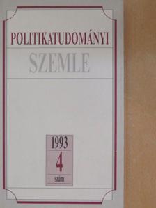 Alfred Stepan - Politikatudományi Szemle 1993/4. [antikvár]