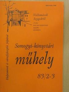 Antal Imre - Somogyi-könyvtári műhely 83/2-3 [antikvár]