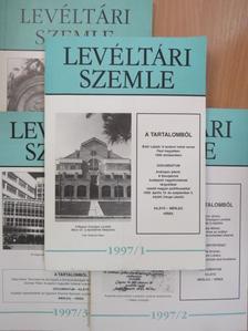 Albrechtné Kunszeri Gabriella - Levéltári Szemle 1997/1-4. [antikvár]