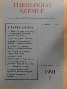 Boross Géza - Theologiai Szemle 1991/5. [antikvár]