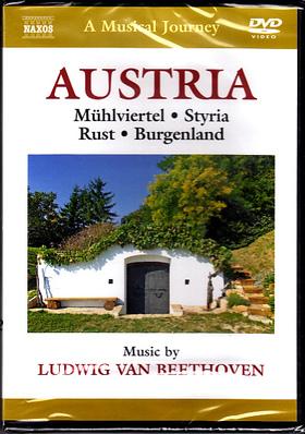 BEETHOVEN - AUSTRIA - MÜHLVIERTEL - STYRIA - RUST - BURGENLAND DVD