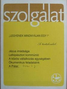 Békés Gellért - Szolgálat 1988. Karácsony [antikvár]