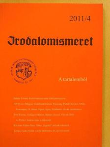 Bárdos József - Irodalomismeret 2011/4. [antikvár]