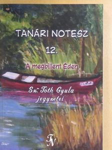 Sz. Tóth Gyula - Tanári notesz 12. [antikvár]