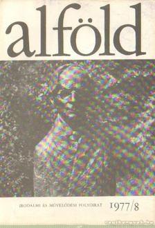 KOVÁCS KÁLMÁN - Alföld 1977/8. [antikvár]