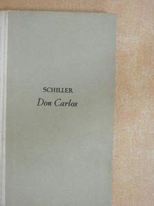 Schiller - Don Carlos [antikvár]