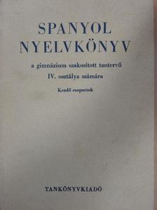 Bikfalvy Péter - Spanyol nyelvkönyv [antikvár]