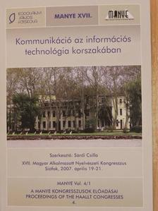Andrássy Géza - Kommunikáció az információs technológia korszakában [antikvár]