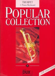 POPULAR COLLECTION 7 FOR TRUMPET + PIANO/KEYBOARD (A.HIMMER)