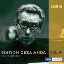 Bartók Béla - EDITION ANDA GÉZA VOL.IV CD