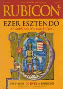 RUBICON - 2020/2-3 EZER ESZTENDŐ