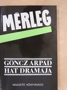 Göncz Árpád - Mérleg [antikvár]