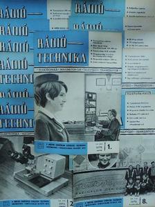 Kiss László - Rádiótechnika 1970. január-december [antikvár]