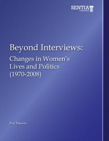 Travers Eva - Beyond Interviews - Changes in Women's Lives and Politics (1970-2008) [eKönyv: epub, mobi]
