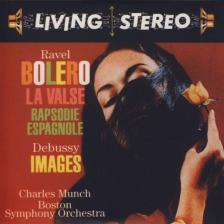 RAVEL... - BOLERO - RAPSODIE ESPAGNOLE CD CHARLES MUNCH