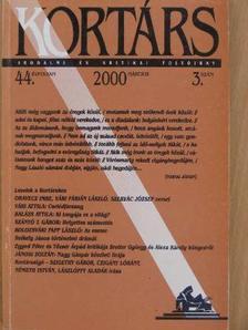 Balázs Attila - Kortárs 2000. március [antikvár]
