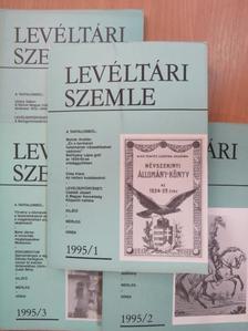 Albrechtné Kunszeri Gabriella - Levéltári Szemle 1995/1-4. [antikvár]