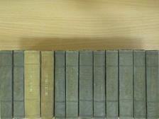 """Émile Augier - """"12 kötet a Théatre Francais sorozatból (nem teljes sorozat)"""" [antikvár]"""