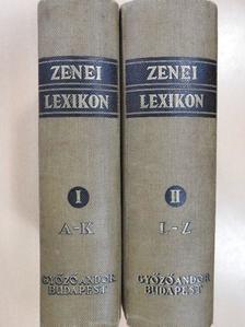 Adler Guido - Zenei Lexikon I-II. [antikvár]