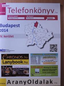 Üzleti telefonkönyv - Budapest IV. kerület 2014 [antikvár]