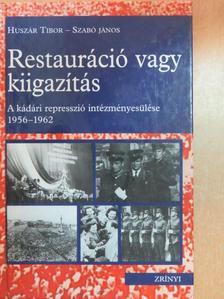 Bikki István - Restauráció vagy kiigazítás [antikvár]