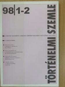 Cieger András - Történelmi Szemle 1998/1-2. [antikvár]