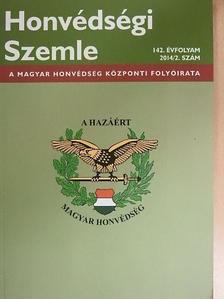 Bárány Zoltán - Honvédségi Szemle 2014/2. [antikvár]