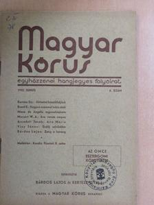 Béres István - Magyar Kórus 1932. június [antikvár]
