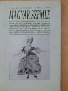 Árva László - Magyar Szemle 2012. február [antikvár]