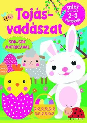 Szalay Könyvkiadó - Tojásvadászat - Mini feladatok 2-3 éveseknek