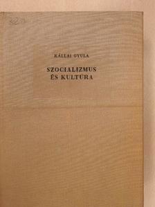 Kállai Gyula - Szocializmus és kultúra [antikvár]