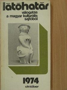 Almási Miklós - Látóhatár 1974. október [antikvár]