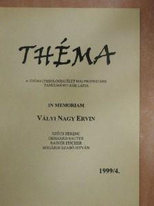 Bogárdi Szabó István - Théma 1999/4. [antikvár]