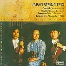 DVORÁK, KODÁLY, TANEJEV, BRIDGE - JAPAN STRING TRIO CD