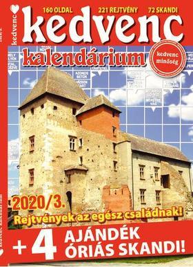 CsoSch Kft. - Kedvenc Kalendárium 2020/3