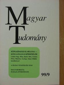 Bencze Gyula - Magyar Tudomány 1999. szeptember [antikvár]