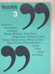 Baka István - Tiszatáj 1976. március [antikvár]