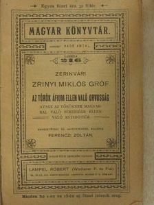 Zerinvári Zrinyi Miklós gróf - Az török áfium ellen való orvosság [antikvár]