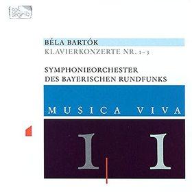 Bartók Béla - KLAVIERKONZERTE CD
