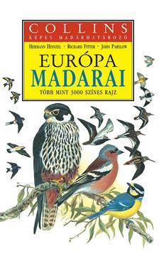 Heinzel-Fitter-Parslow - Európa madarai - Collins képes madárhatározó