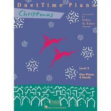 DUET TIME PIANO. CHRISTMAS LEVEL 2 ARR. FABER & FABER