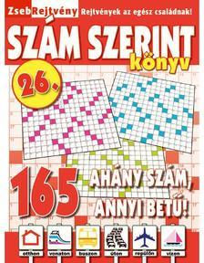 CsoSch Kft. - ZsebRejtvény SZÁM SZERINT Könyv 26.