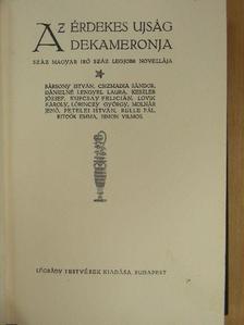 Bársony István - Az Érdekes Ujság Dekameronja VII. (töredék) [antikvár]
