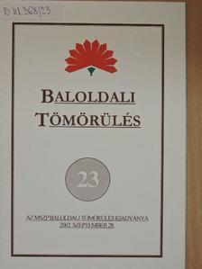 Baranyi Béla - Baloldali tömörülés 23. [antikvár]