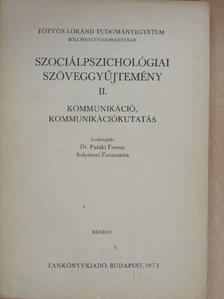 Buda Béla - Szociálpszichológiai szöveggyűjtemény II. [antikvár]