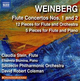 WEINBERG - FLUTE CONCERTOS CD COLEMAN