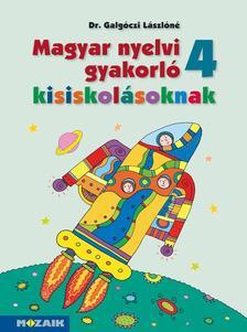 Dr. Galgóczi Lászlóné - MS-2508 Magyar nyelvi gyakorló kisiskolásoknak 4.o.